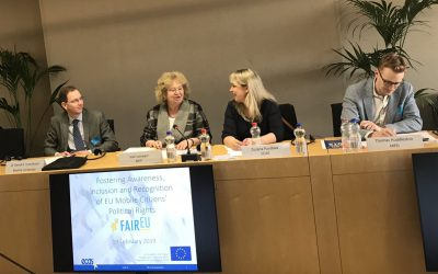 Workshop on Fostering Awareness, Inclusion and Recognition of EU Mobile Citizens' Political Rights
